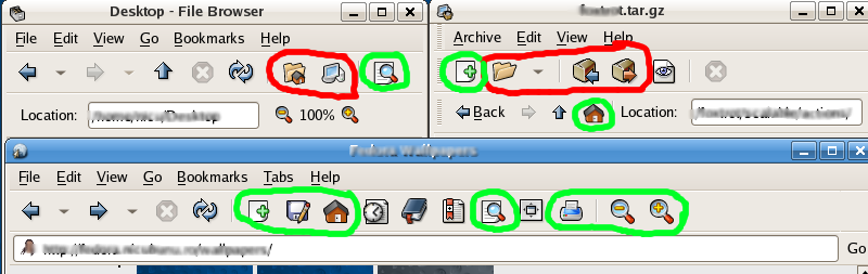 Artwork BluecurveIconGuidelines toolbars icons perspective.png